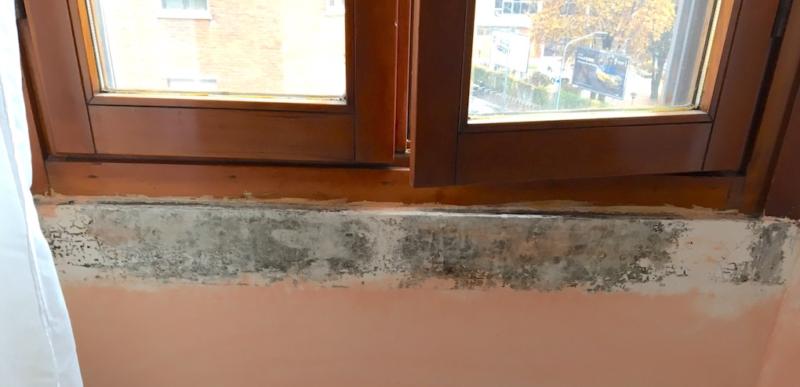 finestre provincia di bari muffa davanzale